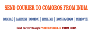 Courier to Comoros from Gurgaon, Courier Comoros , Courier Service to Comoros , Comoros Courier Service, Gurgaon to Comoros Courier Service, Dhl Comoros , Fedex Comoros , UPS Comoros , Aramex Comoros , TNT Comoros , Cheapest, Economy, Express, Fast, Air, Cargo, Urgent, Cheap, Gurgaon Comoros Courier, cargo service to Comoros , Comoros cargo service, shipment to Comoros , Gurgaon to Comoros cargo, Shipping to Comoros , cargo Agent for Comoros , Best International Courier Service for Comoros , Sending Parcel to Comoros , Ship to Comoros , Comoros Courier Charges, Courier rate from India to Comoros , Best way to send parcel to Germany From Gurgaon, Courier for Comoros from Gurgaon, Courier Charges For Comoros , Reliable courier for Comoros , Affordable Courier Service for Comoros , Delivery to Comoros , import service from Comoros , Fast Courier to Comoros , Parcel Delivery to Comoros , Cargo Delivery to Comoros , Best Courier to Comoros , Way to Send parcel to Comoros , Discounted Courier Rates for Comoros from Gurgaon, Shipping Prices for Comoros , Comoros Courier Price from Gurgaon, Cheapest Courier Service for Comoros From Gurgaon, Economy Courier Service for Comoros From Gurgaon, cargo service to Comoros , Cargo agent for Comoros , Comoros Cargo Service, Export Cargo to Comoros , Sea Cargo to Comoros , Economy Courier Rates for Comoros From Gurgaon, Economy courier Rates for Comoros , how to Send Courier to Comoros , How to ship Parcel to Comoros From Gurgaon, Shipping Rates for Comoros , Shipping Charges for Comoros , Top Rates Courier for Comoros , Gurgaon to Comoros Courier Charges, Comoros Courier Expert, Fast Courier to Comoros , Urgent Courier to Comoros from Gurgaon, Express Delivery to Comoros from Gurgaon, Gurgaon to Comoros Urgent Courier Service, Next Day courier to Comoros From Gurgaon, Next Day Delivery to Comoros from Gurgaon, Next Day Courier to Comoros , Fast Courier to Comoros from Gurgaon, Discounted Rates for Comoros Courier, Parcel Delivery to 