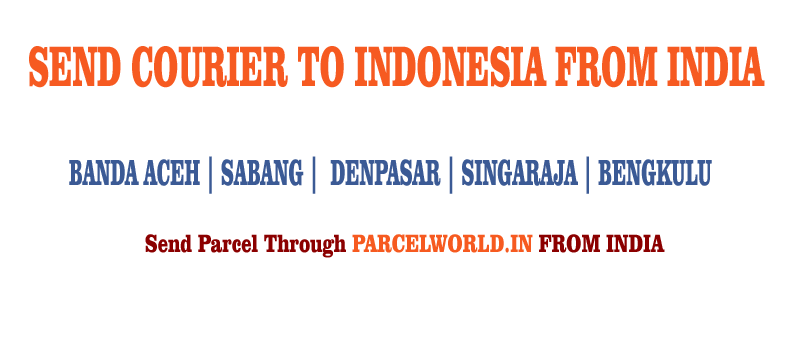 Send Courier To Indonesia From Delhi Service 918976087203 Parcel World International Courier Service Mumbai Delhi India